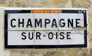 95 Champagne-sur-Oise D4