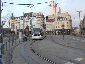 Tramway de Nancy - Ligne 1 Gare