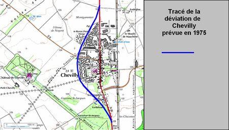 Déviation de Chevilly (45 Loiret)