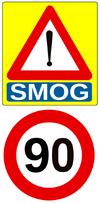 Vitesse pic de pollution Belgique (Wallonie)