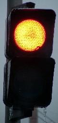 Feu de passage A31 rouge