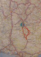 A51 Grenoble - Sisteron variante 1987