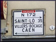 14 Bayeux plaque haute N172