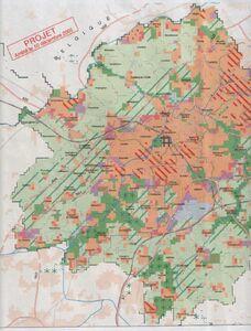 Réseau routier long terme Lille 2001