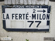 Plaque Michelin 60D077 - Marolles-936B