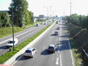 A480 entre échangeur 2 et 3