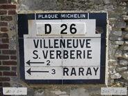 Plaque Michelin 60D026 - Brasseuse-306B