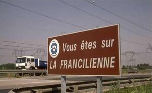 Panneau Francilienne-est