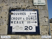 Plaque Michelin 60D020 - Boullarre-F