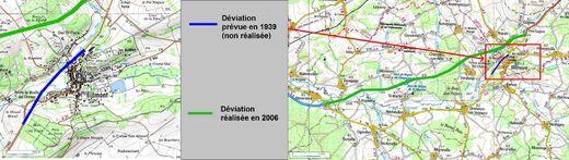 Déviation de Blamont (54 Meuthe-et-Moselle) modif