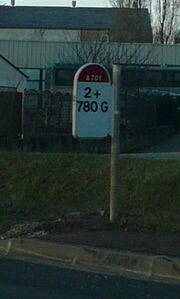 A701 PR extrémité gauche