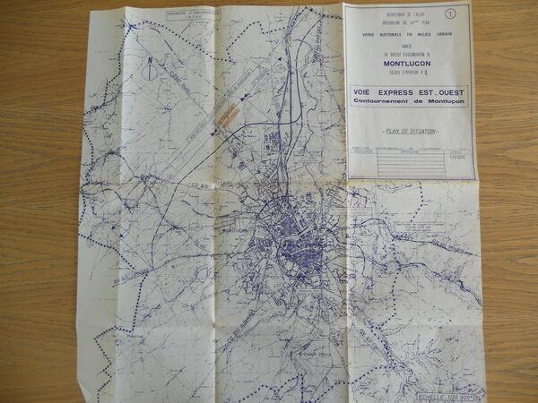 Contournement de Montluçon 1976