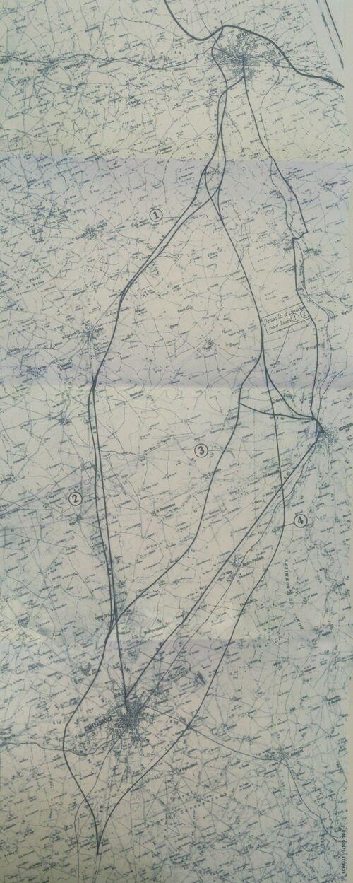 A20 Vierzon - Chateauroux 1973-2