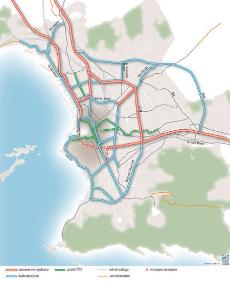 Schéma fonctionnel Marseille 2015 vu en 2002