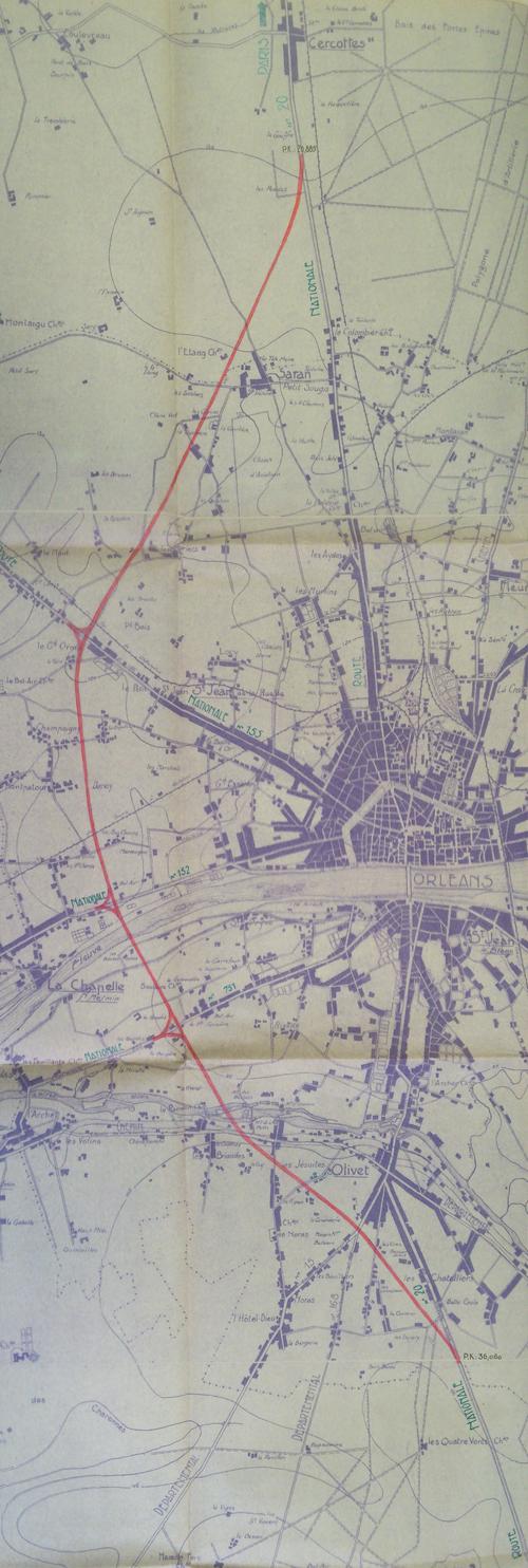 Orléans 1941 20000ème