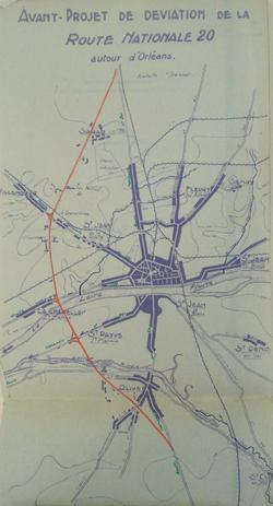 Orléans 1941 50000eme