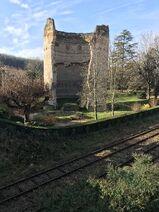 Périgueux - Tour de Vésone - Voie ferrée