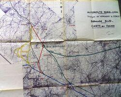 A6 1957 Avallon Raccordement RN6