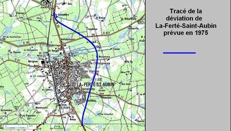 Déviation de la Ferté St aubin (45 Loiret)