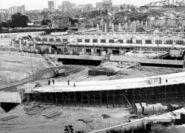 Porte de Bagnolet 1966 - Echangeur BP-A3 Gare routière