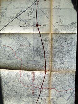 B3 Nord 1963 - Tracé général