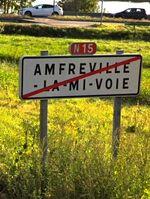 RN15 - Amfreville-la-Mi-Voie