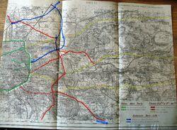 Antenne de Bagnolet 1946 - Tracé général