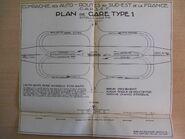 Plan échangeur type Autoroute Lyon - Evian