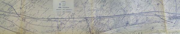 Zoom aménagement RN7 Briare Bonny 1983