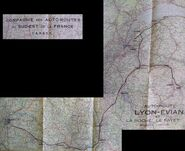 Autoroute Lyon Evian 1932