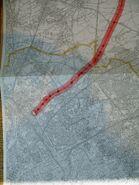 Autoroute du Nord 1957 – Tracé1