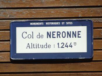 Col de Neronne