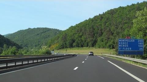 France A75 Massiac - St Flour (Viaduc de Garabit)