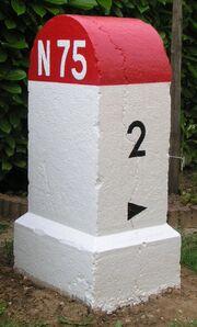 RN75 - Borne