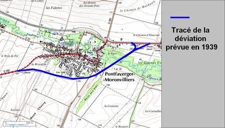 Déviation de Pontfaverger (51 Marne)