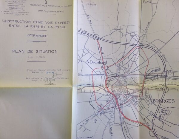 1965 bourges projet