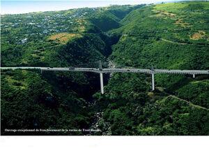 Pont sur la Ravine Trois-Bassins