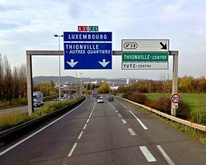 A31 - Rocade Sud Thionville