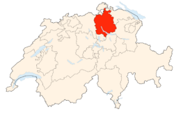 Situation Canton Zurich
