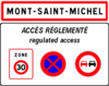 Annonce zone réglementée