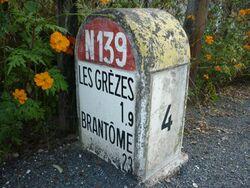 RN139 - Borne Dordogne