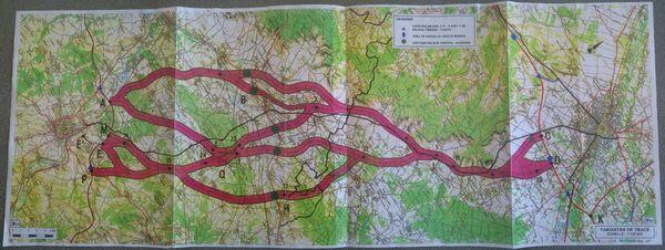 Carte A26 Aube fevrier 1993