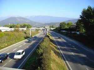 Rocade Sud Grenoble Dir.Meylan