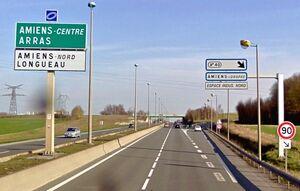 RN1 - Amiens (Rocade Nord)