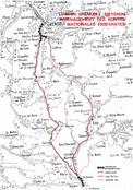 A51 1976 solution d'aménagement des routes existantes