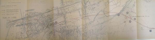 Déviation de Montargis 1963 RN7