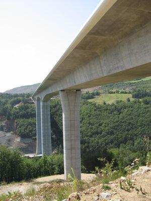 N88 - Viaduc de la Colagne