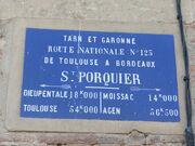 RN123 - Saint-Porquier