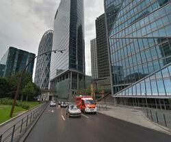 Bd circulaire La Défense carrefour Gambetta 1 - 2014