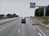 Sortie pour la D39 près de Saint-Maden